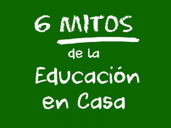 6 mitos de la Educación en el Hogar